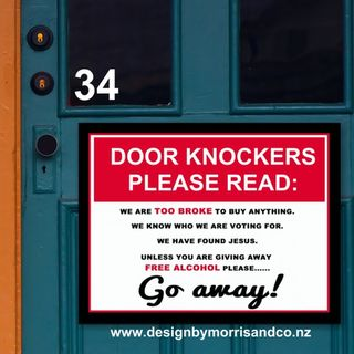 Door Knockers.....