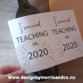 I survived teaching in 2020!