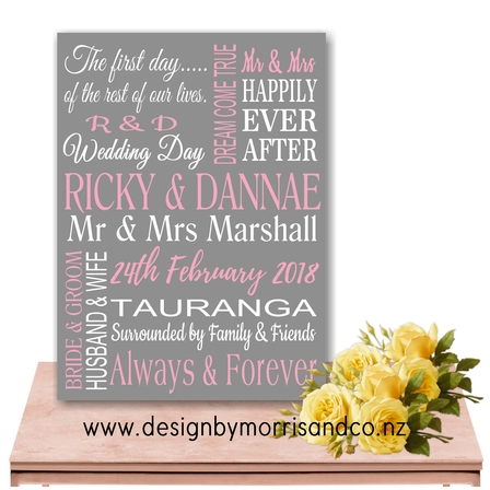 Wedding Day Keepsake