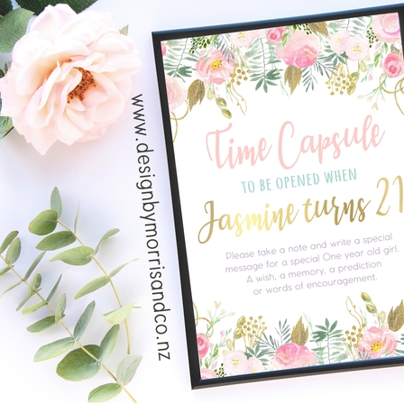 Floral Time Capsule